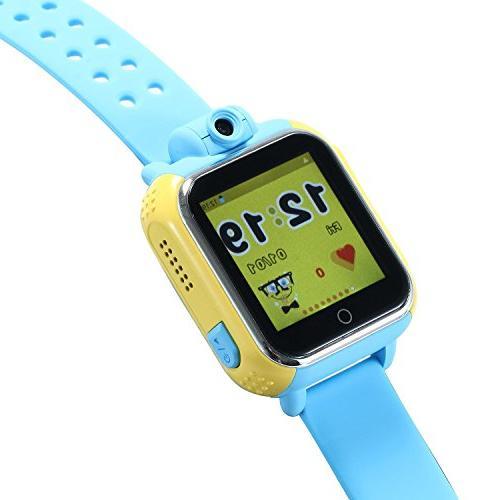 KOBWA Kids Watch WCDMA Children Bracelet Control for Iphone IOS Dual