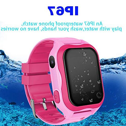 Kids Smart Watch Phone GPS Tracker for 3-14