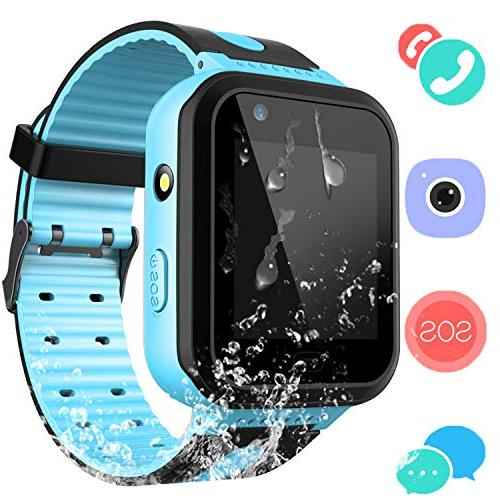 Kids Waterproof Smartwatch with GPS Tracker - Boys & Girls I