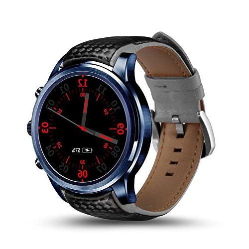 LEMFO LEM5 Pro Smart Watch,1.39 inch 3g Smartwatch Phone MTK