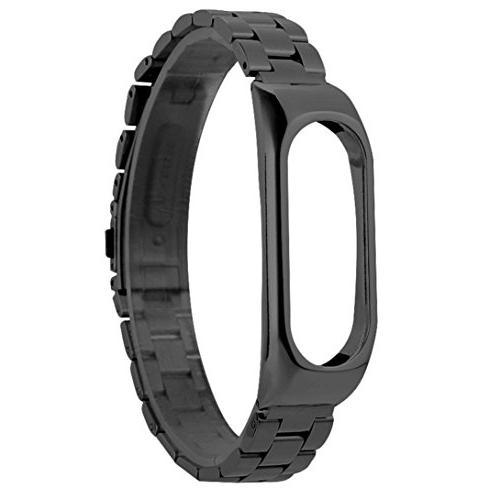 LtrottedJ For Xiaomi Mi Band 2 Stainless Steel Luxury Wristb