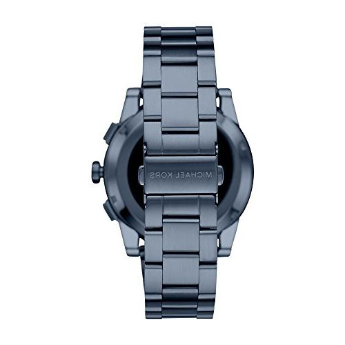 Michael Men's Smartwatch, Grayson Steel, MKT5027