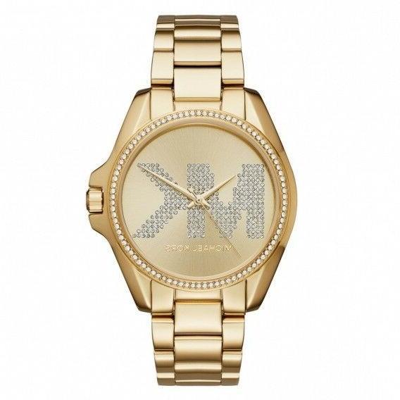Michael MK6555 Women's 'Bradshaw' Quartz Stainless Casual Watch,