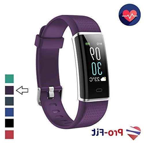 Pro-Fit Fitness Tracker, Activity Tracker with Color Screen,