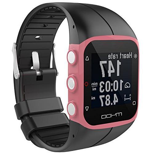 RuenTech Bands Polar M400 / Watch Strap Replacement Soft Polar and M430 GPS