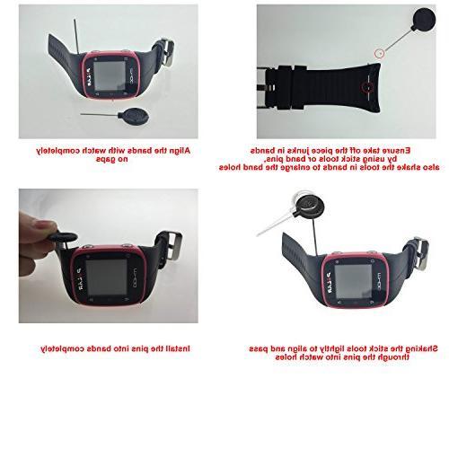 RuenTech M400 Strap Wristband Polar and GPS Sports