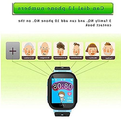 SODIAL GPS Smartwatch, 1.44 Gifts Camera Pedometer Compatible iPhone