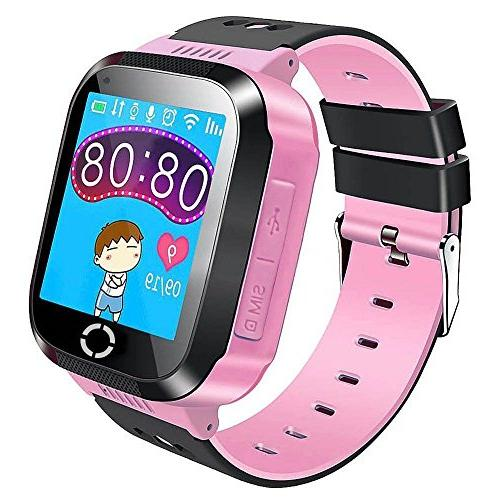 SODIAL Kids GPS Smartwatch, 1.44 inch Smart Watch Bracelet F