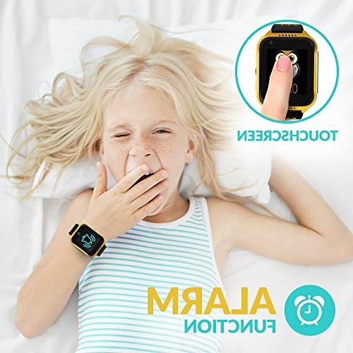 Smart GPS Tracker Phone Watch Birthday Touchscreen SOS iPhone Android Smartphone Children Boys