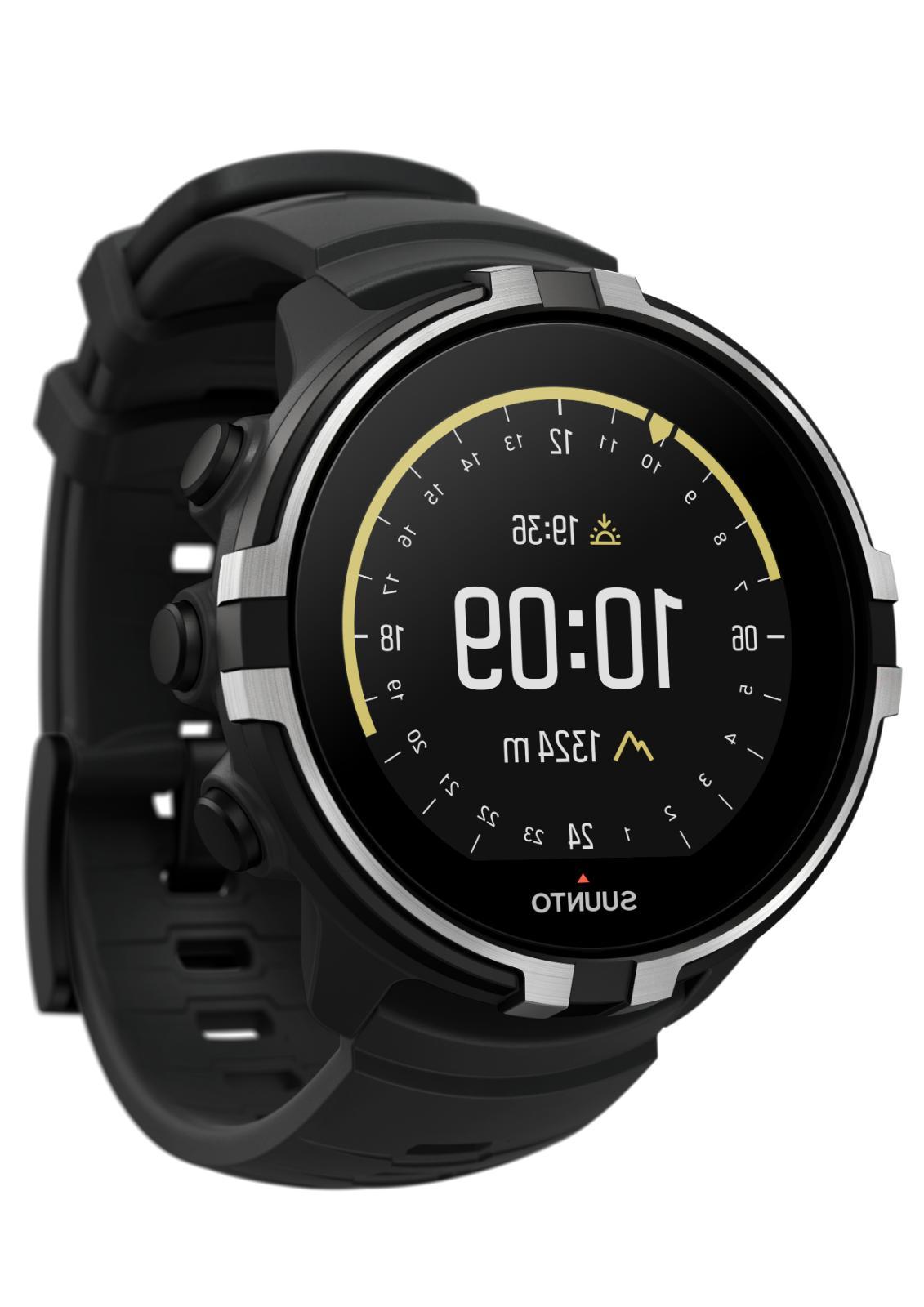 Suunto Sport Wrist HR Baro - Stealth