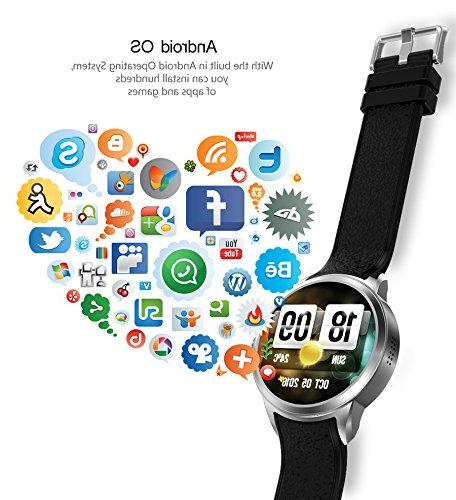 TORTOYO Android Smart Watch Phone Clock 3G Card