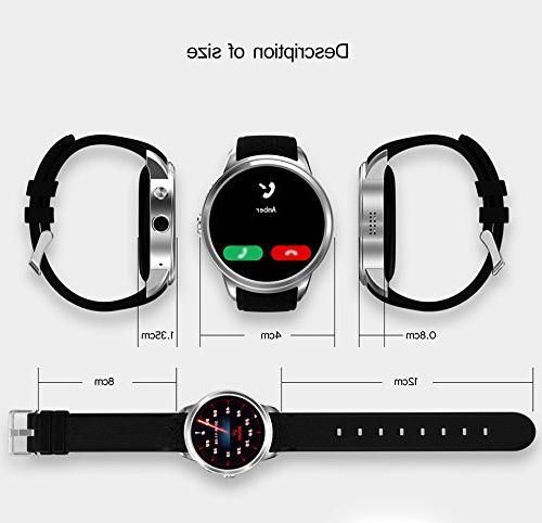 TORTOYO X200 Watch 5.1 Quad Smartwatch Clock Rate 3G Card