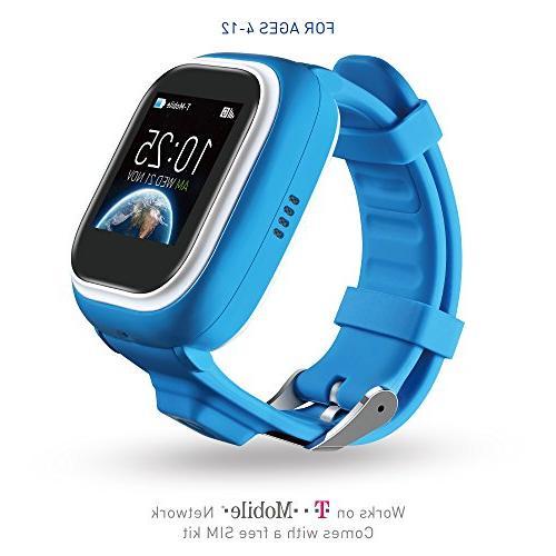TickTalk 1 0S Touch Screen Kids Smart Watch, GPS