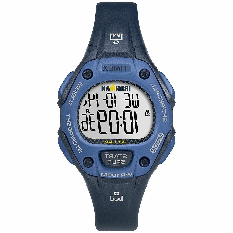 """Timex TW5M14100, """"Ironman"""" 30-Lap Alarm,"""