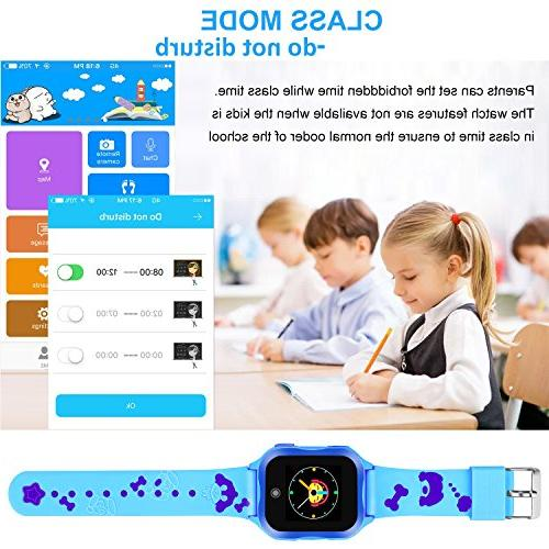 Waterproof Smart for Kids Accurate SOS and Camera Electronic