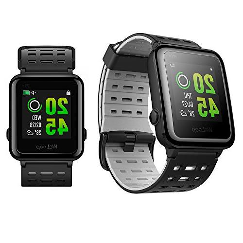 Weloop Sport Bluetooth Smart Watch with Silicone Strap Touch