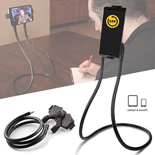 Whyzyv Lazy Neck Holder Hands-free for Cell Phone,