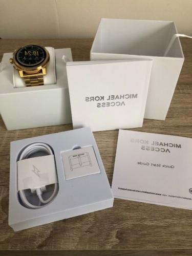 Michael Kors Access Gold Tone Touchscreen Smartwatch MKT5026