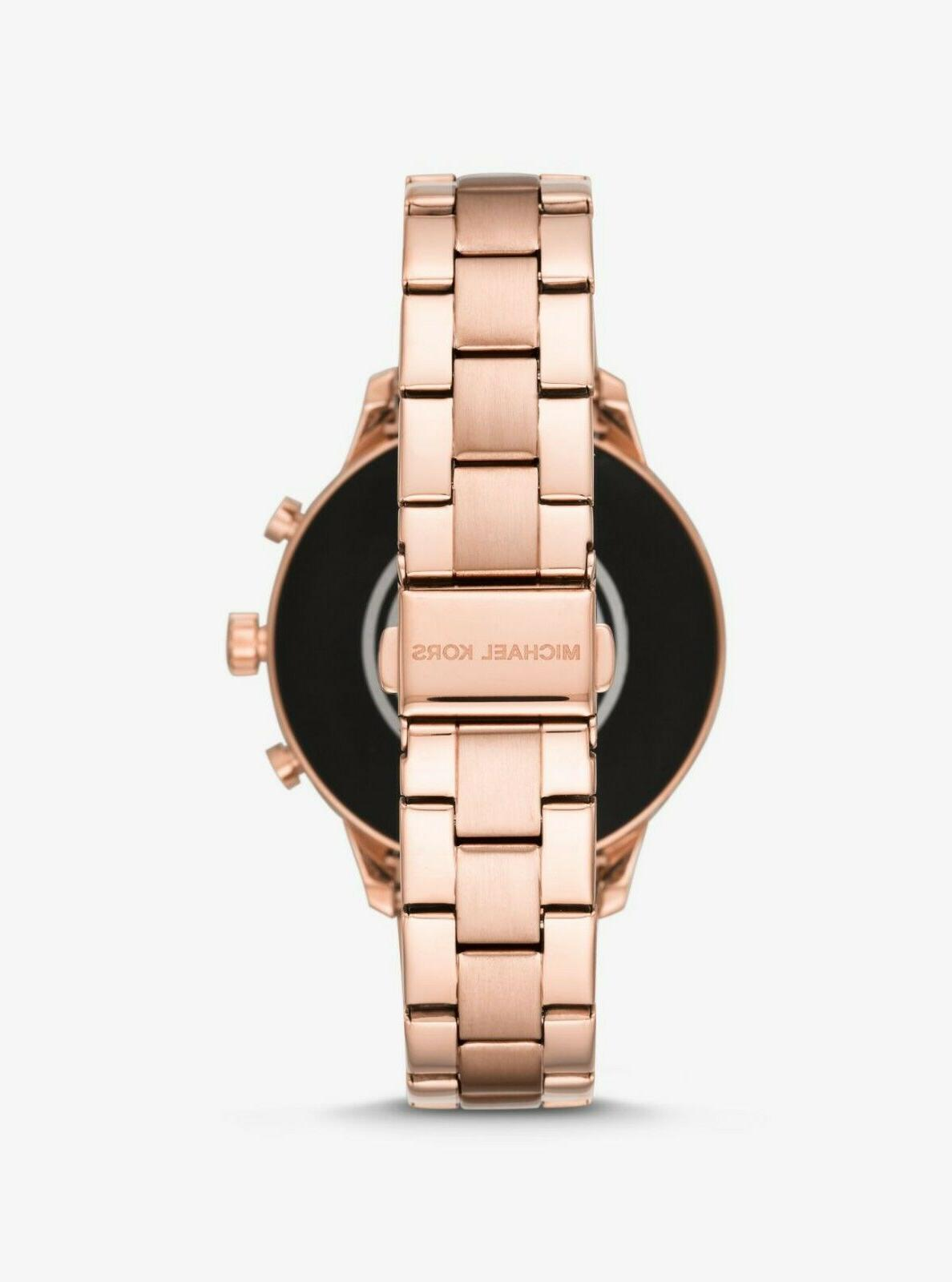 Michael Kors Access Rose Smartwatch 45MM MKT5054 NEW