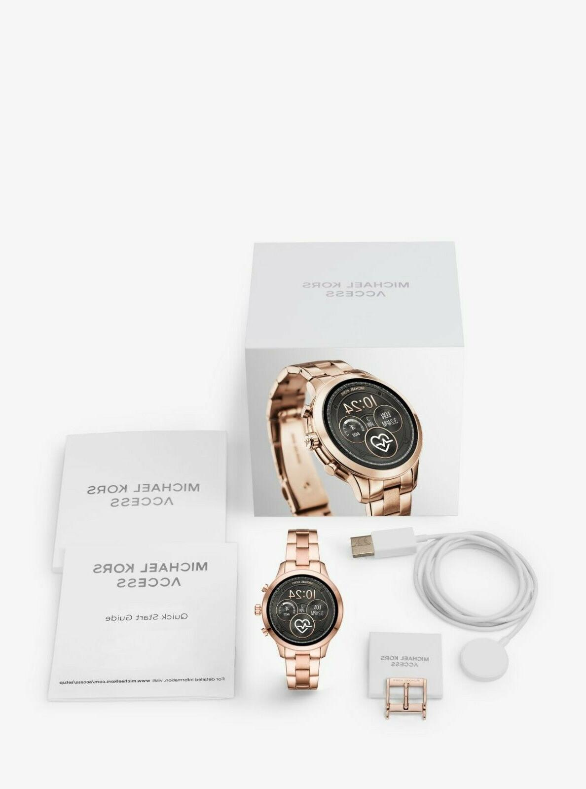 Michael Gold Screen Runway Smartwatch