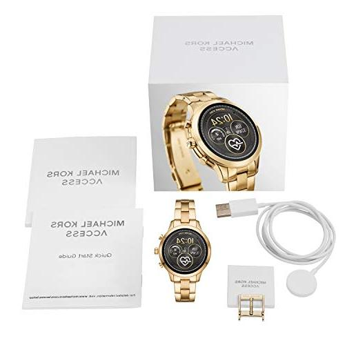 Michael Kors Runway Stainless Smartwatch, Gold Tone