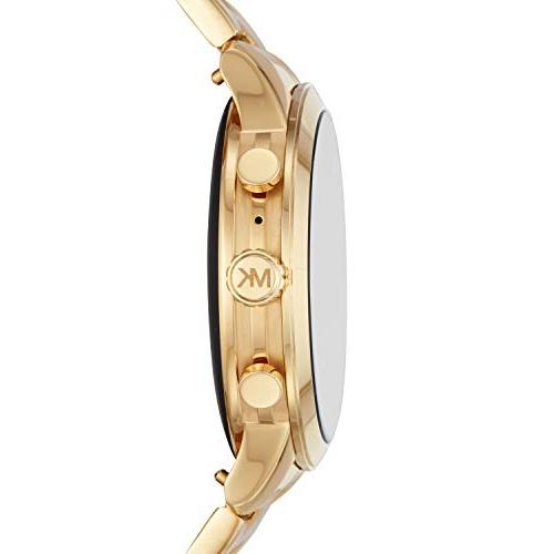 Michael Stainless Gold Tone