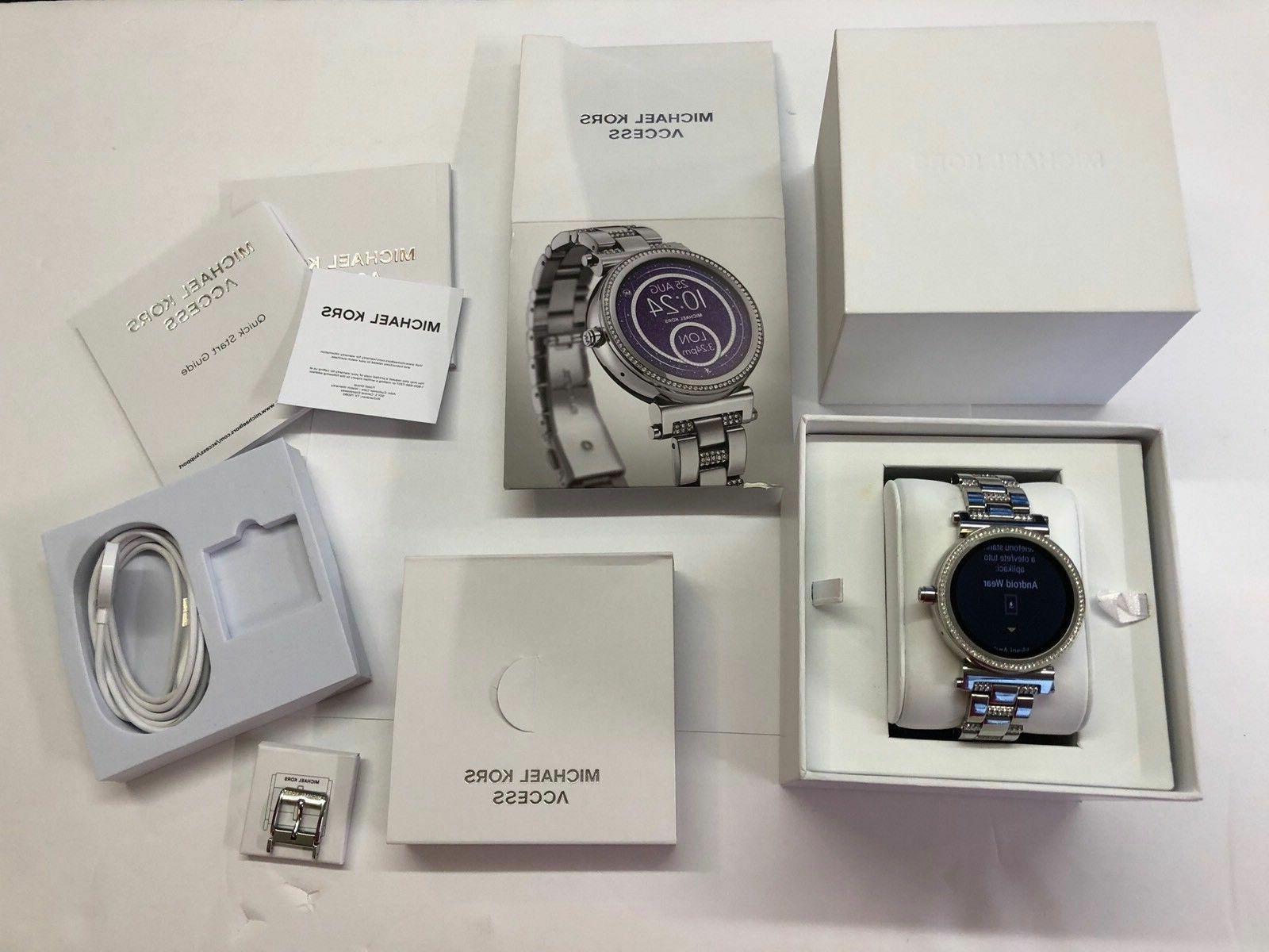 Michael Smartwatch, Stainless MKT5036