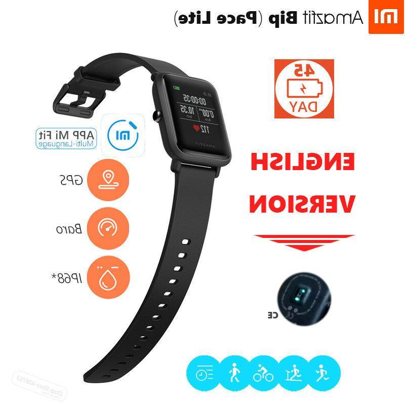 XIAOMI Huami Bracelet Amazfit Bip GPS Smart Wristband Track
