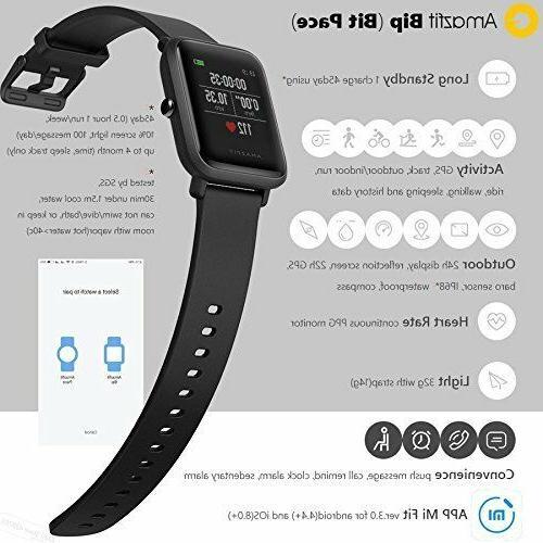 XIAOMI Bracelet Bip GPS HeartRate Smart Track