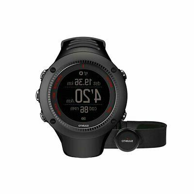 Suunto Ambit3 Run Black  Heart Monitor GPS Watch