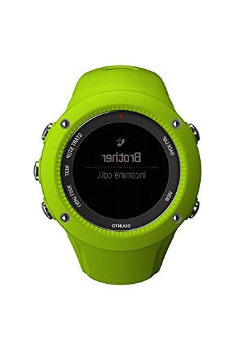 Suunto Heart Watch Ambit3 Run Watch Lime