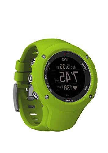 Suunto Run Heart Ambit3 Sport Watch Lime