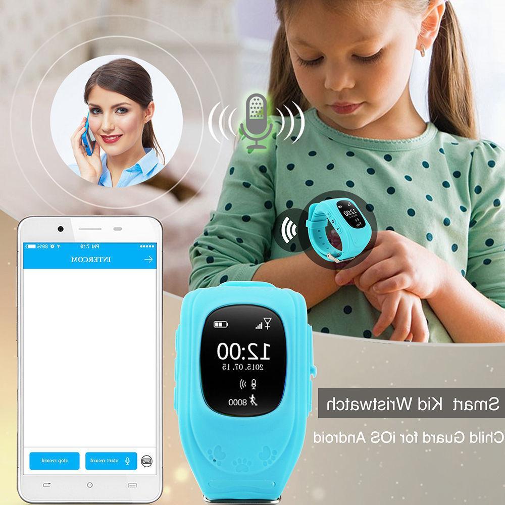 Q50 Anti-lost GPS kid SOS Call Phone android & ios