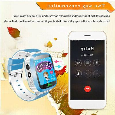 Anti-lost Safe Tracker* Call GSM Smart Watch Phone Android