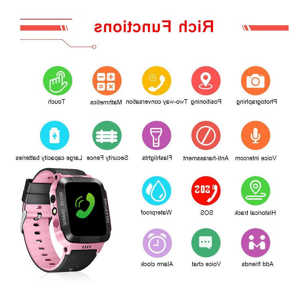 Anti-lost Kids Safe GPS Tracker Smart Android IOS