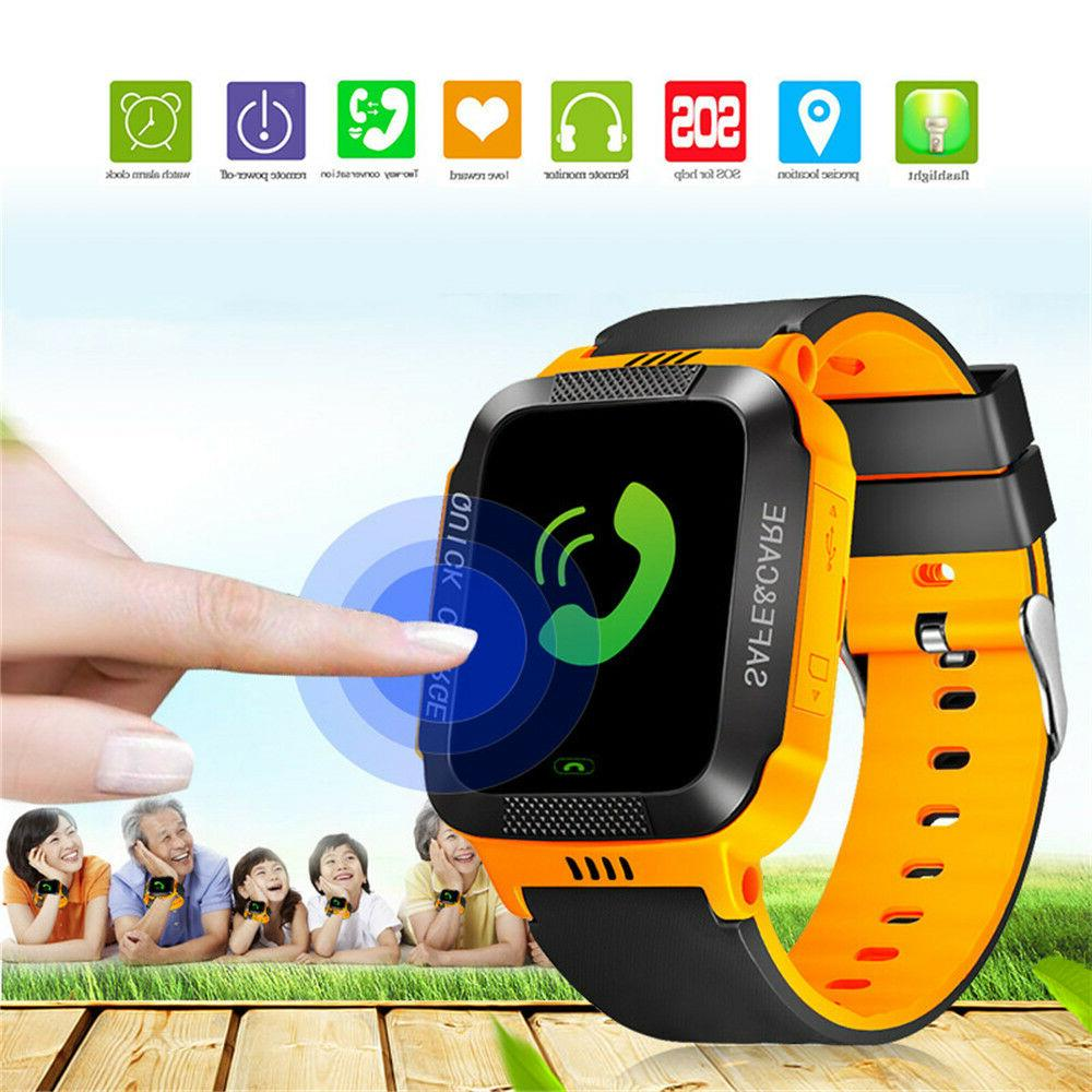 Anti-lost Kids Safe Tracker SOS GSM Smart Android IOS