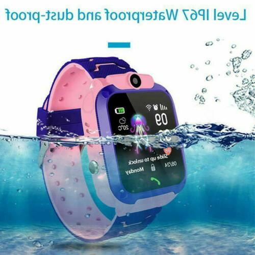 Anti-lost Watch GPS Tracker SOS Safe Camera Gifts