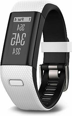 Garmin - Approach X40 Gps Watch - Black, White