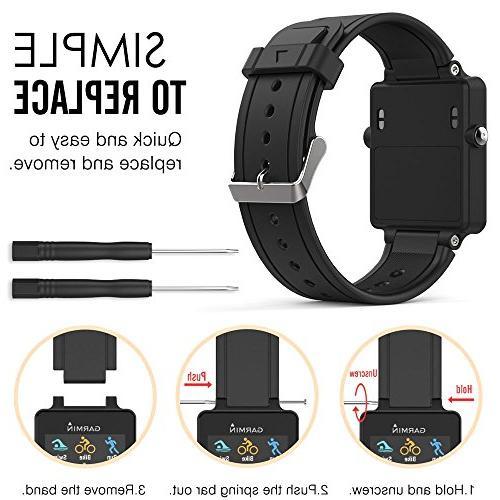 Band Garmin Soft Watch Vivoactive Smart Watch