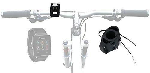black bicycle handlebar mount kit