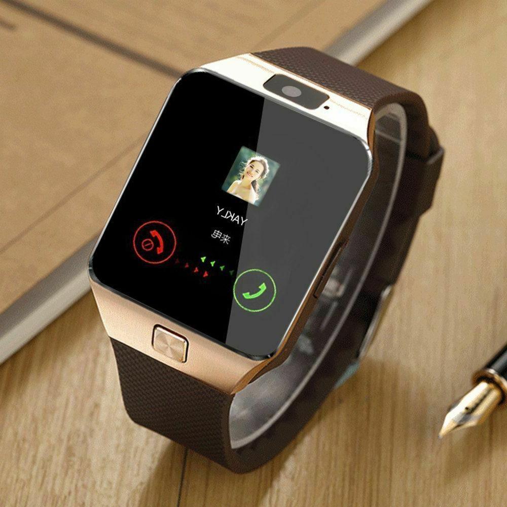 bluetooth smart watch w camera waterproof phone