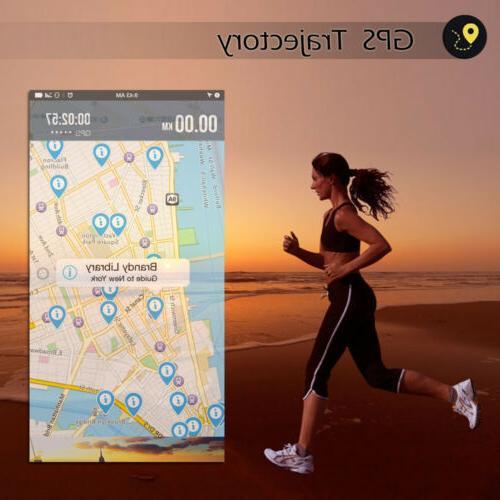 Bluetooth Waterproof Sports Fitness Tracker Smart Watch