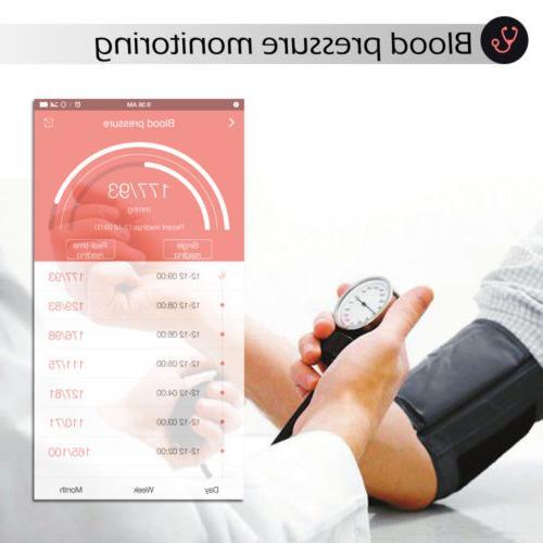 Bluetooth Fitness Tracker Smart Watch