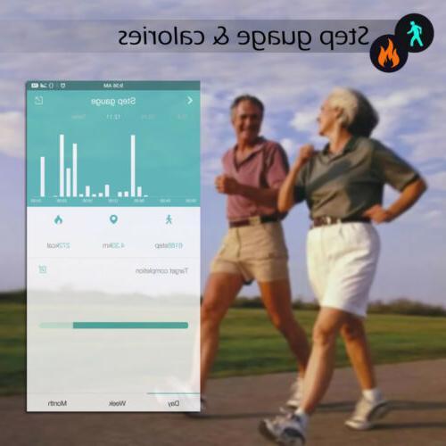 Bluetooth Fitness Watch Wrist
