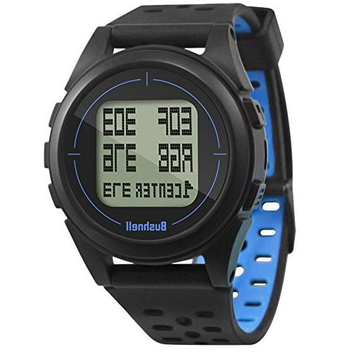 Bushnell GPS Watch Bundle | with Wall/Car USB Adapters Protective Case | Gift Red | Watch