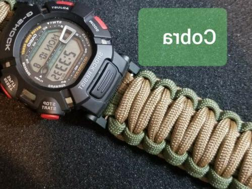 Casio G-Shock Pathfinder Paracord Watch Band Standard Strap