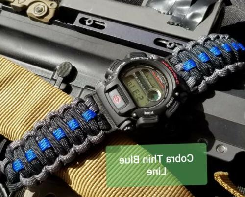 casio g shock protek pathfinder paracord watch