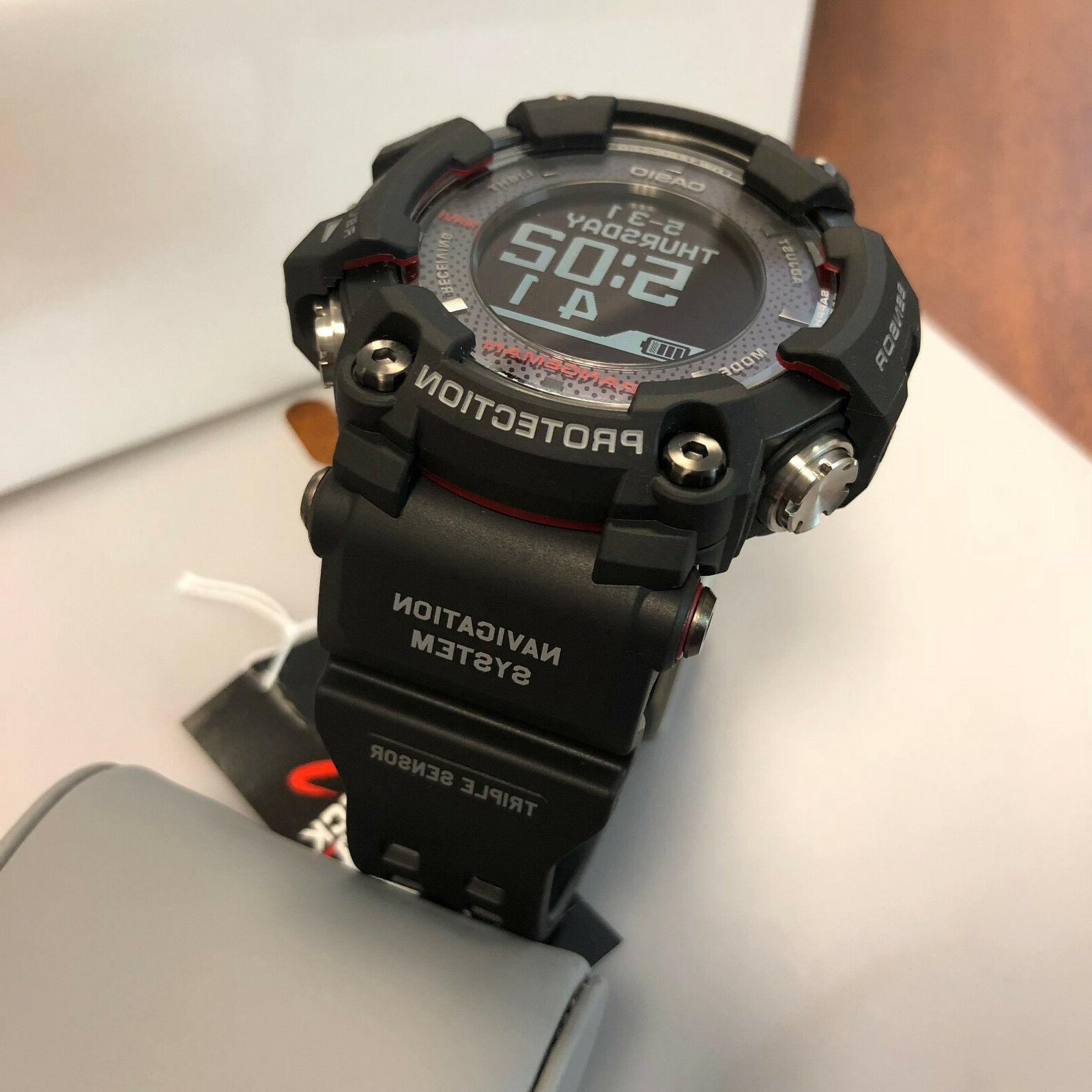Casio Navigation GPRB1000-1 Triple Watch New
