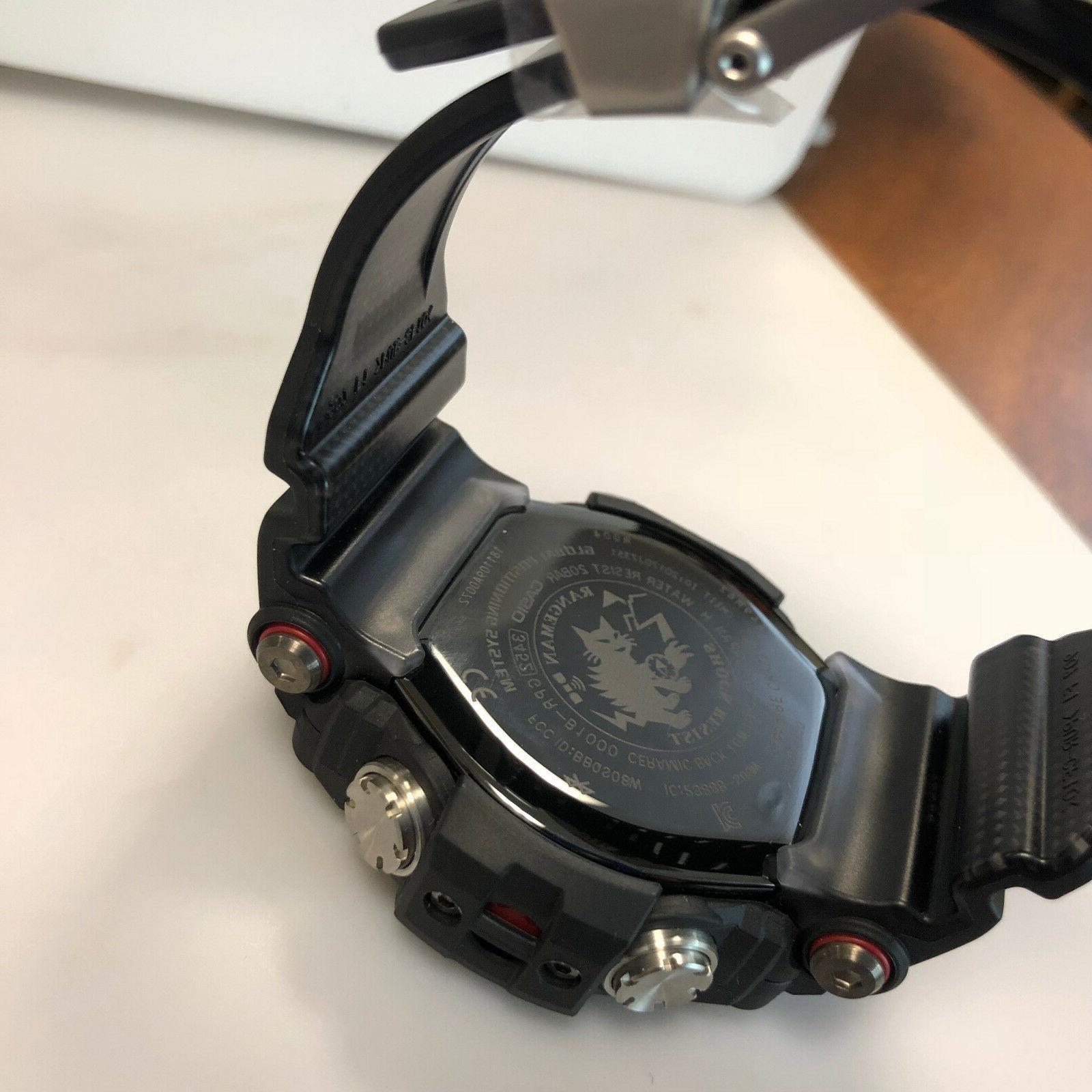 Casio Rangeman Navigation GPRB1000-1 Watch 2018