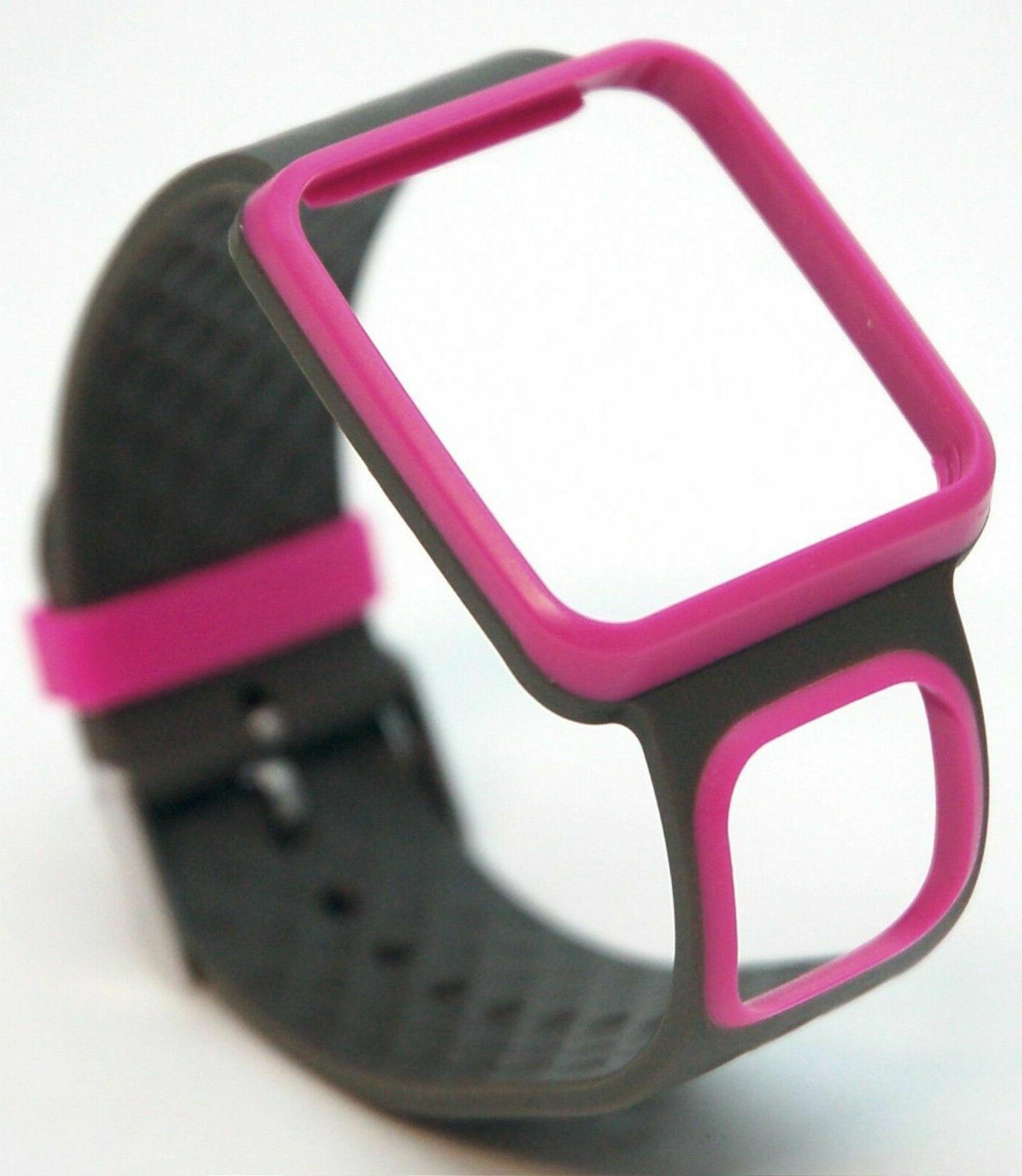 comfort strap slim pink gray runner multi